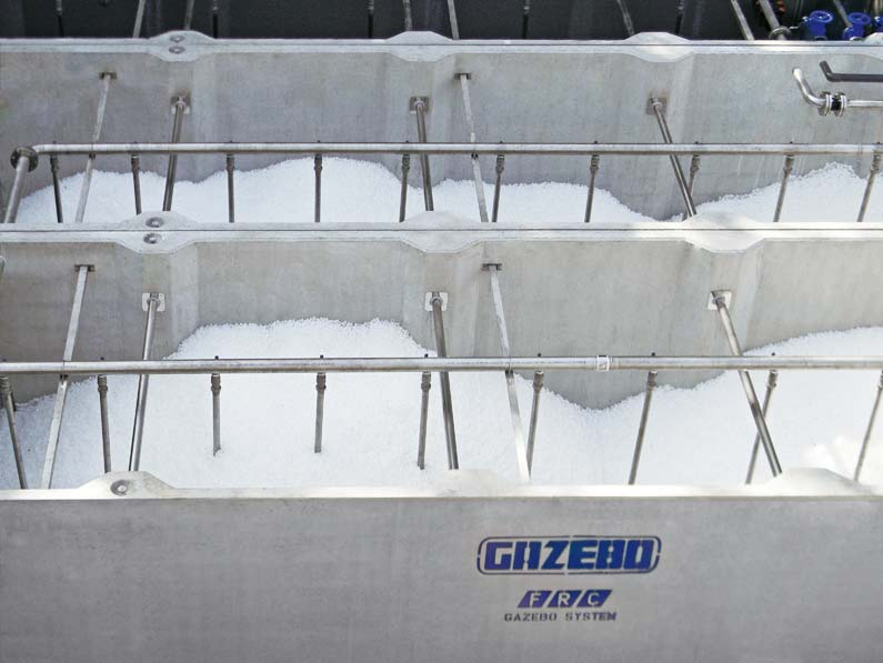 MBBR (Moving Bed Biofilm Reactor) Purification Plants - Gazebo