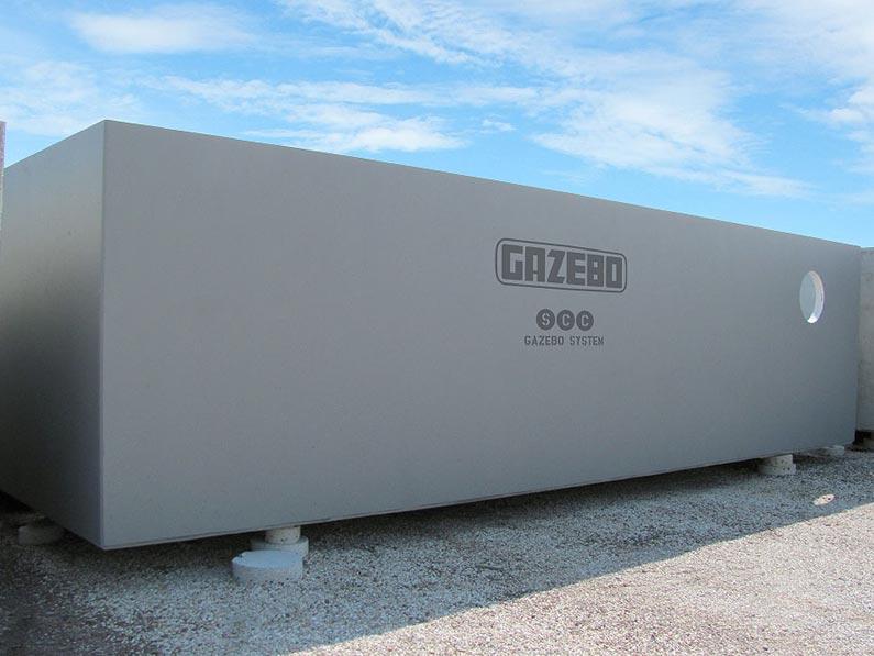 Vasche e impianti di recupero acqua piovana gazebo for Costo impianto irrigazione a pioggia